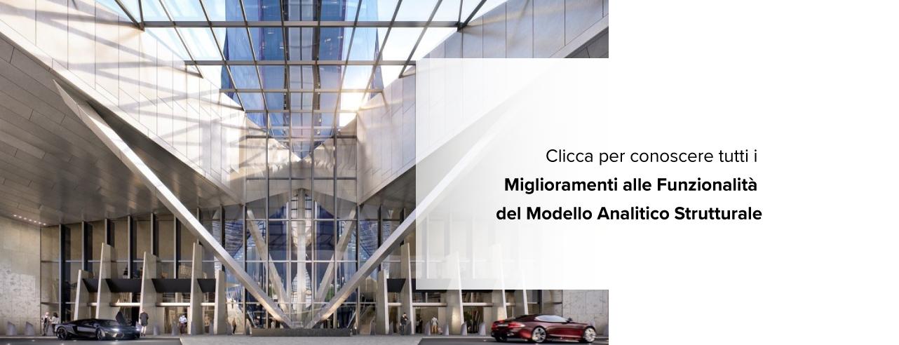 Modello Analitico Strutturale - archicad 24 - aggiornamento - update- graphisoft italia - graphisoft - tecno 3d - bim - architettura - edilizia