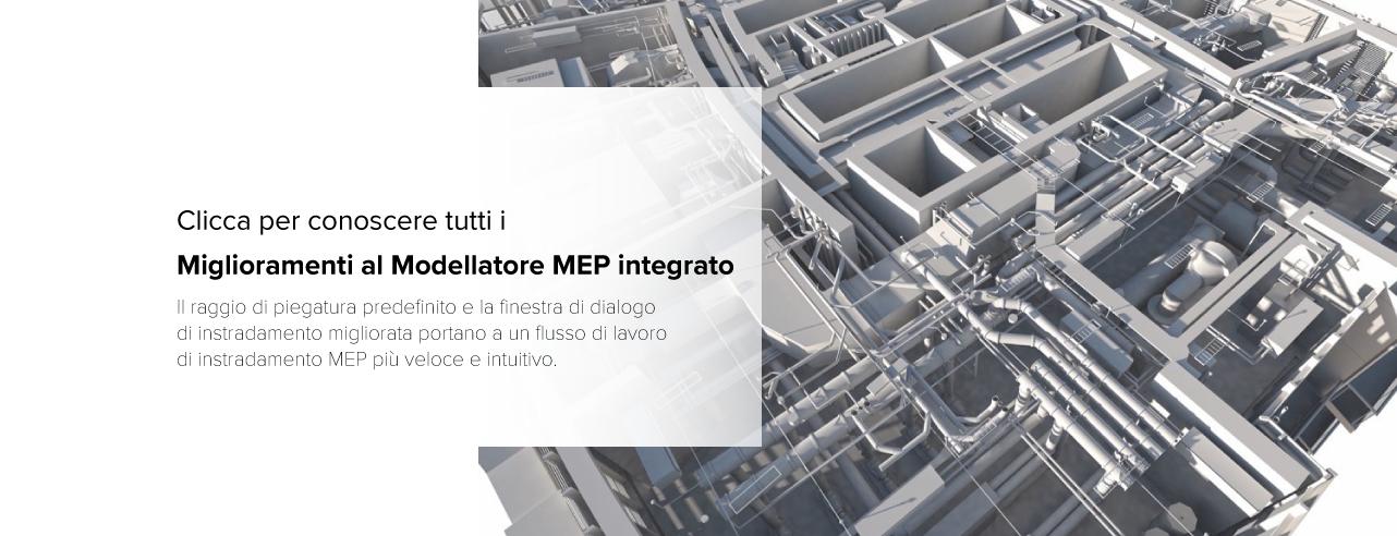 modellatore mep integrato - archicad 24 - aggiornamento - update- graphisoft italia - graphisoft - tecno 3d - bim - architettura - edilizia