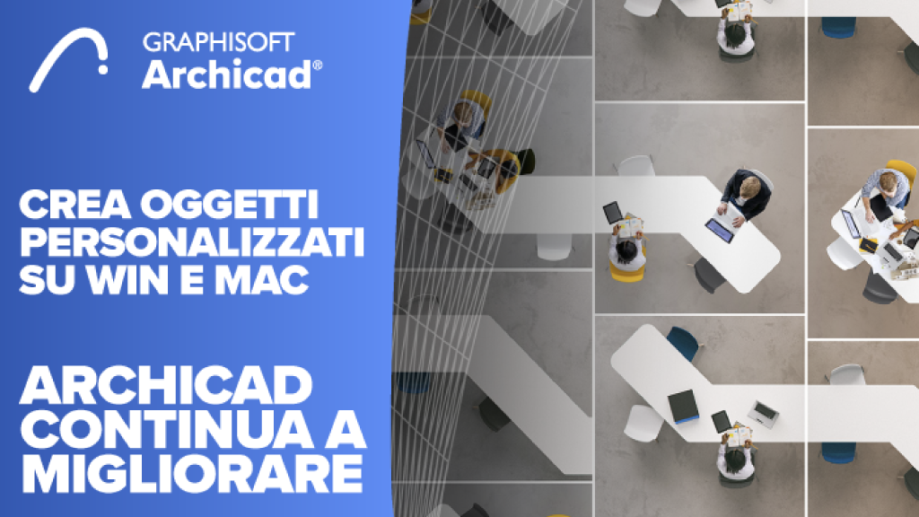 nuovo archicad - archicad 24 - aggiornamento archicad - Update 3 - Graphisoft italia - tecno 3d - software bim - bim - ifc - architettura - software per l'edilizia
