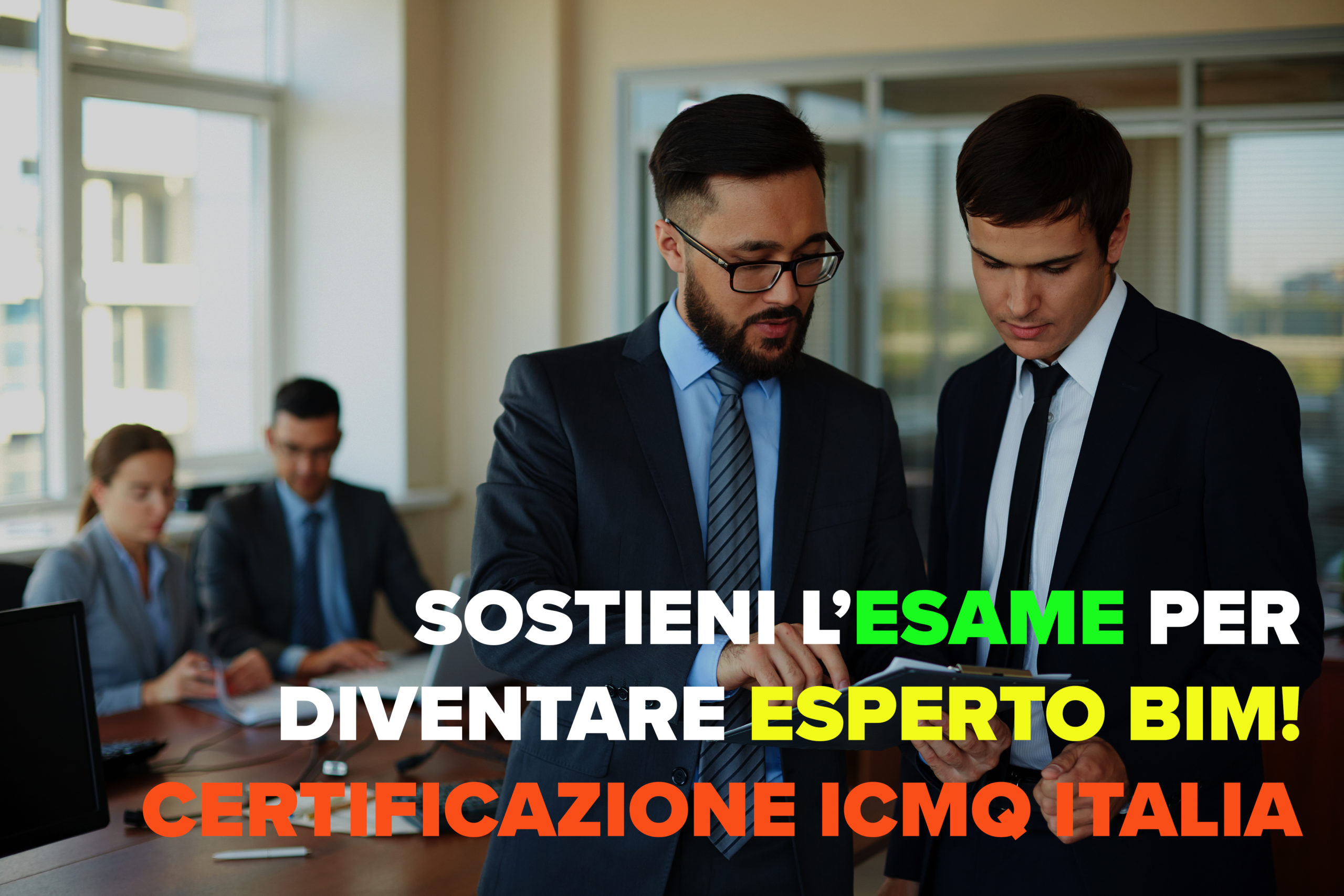 esami icmq - certificazione bim - bim specialist - archicad - architettura - roma - cosenza - archicad