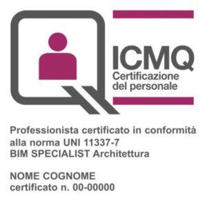 certificazione icmq-esperti bim-tecno 3d-bim specialist-bim coordinator-bim manager-cde manager-bim-icmq