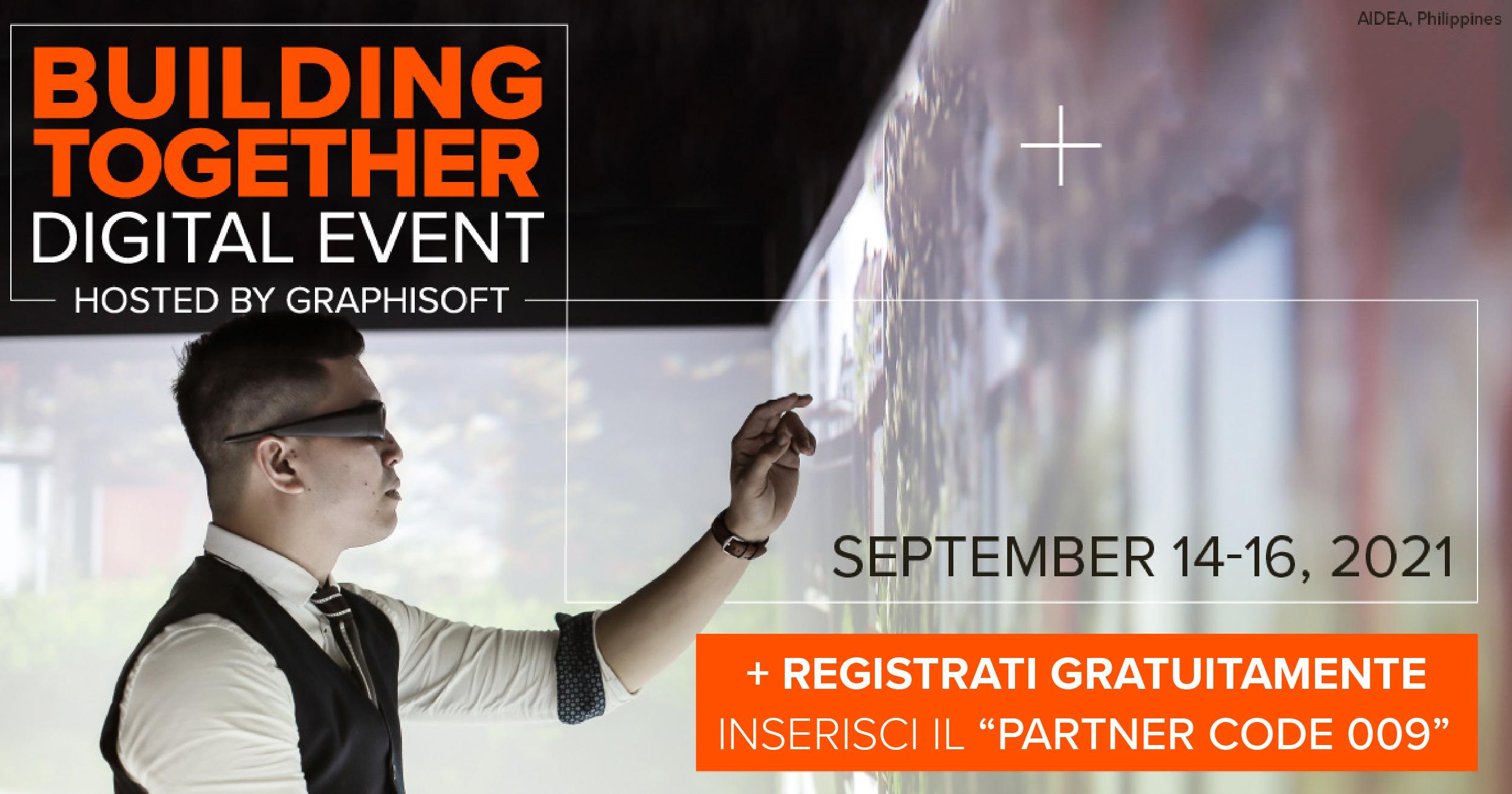 graphisoft-building together-archicad-evento digitale-2021-webinar-tecno 3d-vendita software-bim