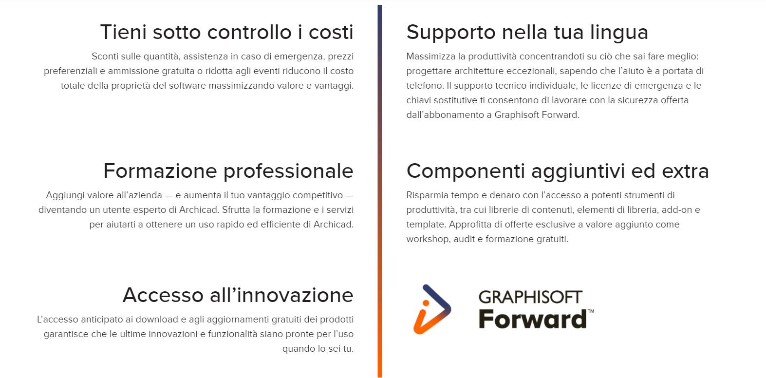 graphisoft-forward-cdaa-assistenza graphisoft-graphisoft italia-servizi-tecno 3d-rivendita software-bim-archicad